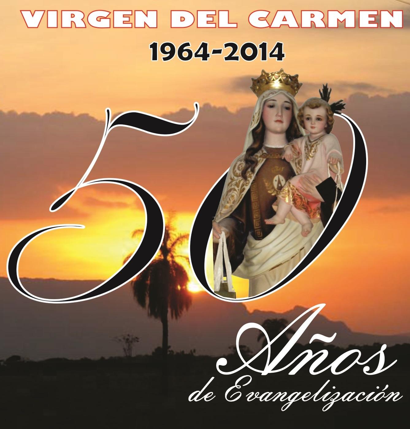 Caratula Novena de la Virgen del carmen